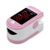 New Arrival Black White Yellow Pink Blue Sky Blue Fingertip Pulse Oximeter Blood Oxygen Monitor Non-invasive SpO2 Medical