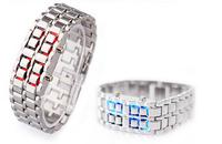 DHL free shipping+500pcs Skmei fashion lovers watch women's table led electronic watch Korean Hand Chain Wrist Watch