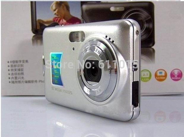 New Arrival 12MP High Quality Anti-Shake 2.7' TFT Screen Digital Camera(China (Mainland))