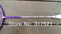li ning badminton racket N50III purple 100% carbon fibre 2 pieces/lot  free shipping