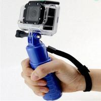 Gopro Color Floaty Floating Bobber Hand Grip Handlebar Selfie Black, Blue Color Tripod Monopod for Gopro HD 3+/3/2/1