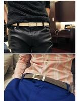 man fashion belt Edition fashion pigskin real genuine leather male buckle belt leather design fashion belt