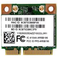 Atheros AR9285 AR5B195 Half WLAN Wifi BT 3.0 BlueTooth wireless Card for IBM free shipping
