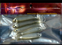 Creative Gorgeous Fishing Soft Lures Popular Precious Fishing Soft Baits Vivid Eyes and Scale Design Hot Sale HN-R13