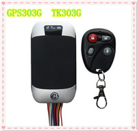 Vehicle Car GPS/GSM/GPRS/SMS Tracker New QUAD band TK303G GPS303G gps tracker for car personal google link real position on map
