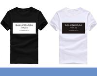 T-shirt  Ballinciaga Men T Shirt Short Sleeve Camisetas Casual Shirts Man Clothing Ballinciaga Harlem
