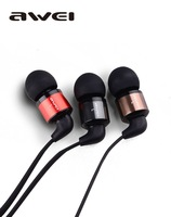High quality ES-600m HIFI Super bass headphone in-ear earphone Cell Phone Headsets Mic Button for samsung xiaomi sony iphone