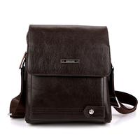 2014 commercial genuine leather bag man bag one shoulder cross-body handbag horizontal briefcase 3 size