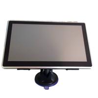 Slim 7 inch GPS navigation 800MHZ Built in 4G DDR128MB 800*480 car gps MTK Support FM Czech\Hebrew\Bulgarian\Polish\Spanish