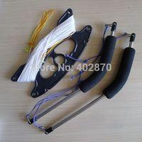 quad handles with 4*25m /150lbs dyneema flying lines for quad stunt trick kites/