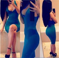 #LB014 Women fashion summer sexy night club dress lady grace bodycon nightclub dresses free shipping