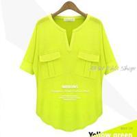 Fashion Women's Summer Short-sleeve V-neck 100% Cotton Modal T-shirt Basic Tee t shirts Tops Shirt 1pcs/lot