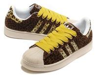 New 2013 men skateboarding shoe fashion Design Leopard casual women sneakers brand lovers shoes