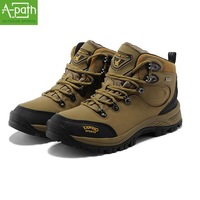 2014 new autumn and winter men's and women's men's high-top hiking shoes, men's outdoor sports warm waterproof hiking shoes