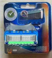 Free shipping by DHL/EMS, 100pack(8pcs per pack) high quality razor blade EU & US vesion packing