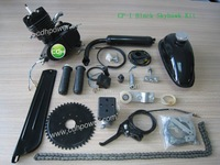 CP-I Black Skyhawk Kit,  80CC Bicycle Engine Kit with black color, Ciclomotores