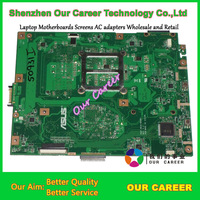 Sell laptop motherboard for Asus K52F motherboard K52F 60-NXNMB1000-E03 100% tested working