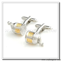 Free shipping ! YH-1756 Novelty Fishing Wheel Tool Cufflinks - Factory Direct Selling