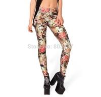 Fashion 2014 Women Colorful KOI Leggings Novelty Design Digital Print Fitness Leggins Girls Sexy Casual Pants Drop Ship S106-513