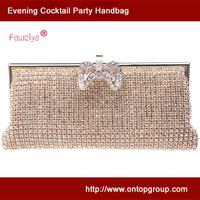 Diamond metal clasp exqusite workmanship women evening party bag  - Ladies handbag - wedding clutch