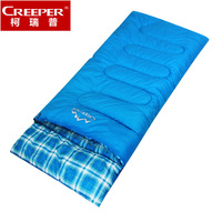 Adult outdoor sleeping bag winter thickening ultra-light sleeping bag envelope indoor 100% cotton sleeping bag