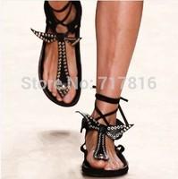 2014 Isabel Marant Women Gladiator Flats Sandals Summer Shoes for Women,Plus Size gz Flip Flops Platform Sapatos