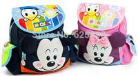 Cartoon Mickey Minner Kids Backpack, boys girls backpack, Children School Bags for Kintergarden bolsa infantil mochila infantil