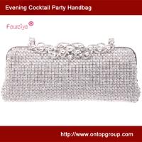 High class luxury clasp ladies wedding party handbag - ball party elegant clutch - evening bag