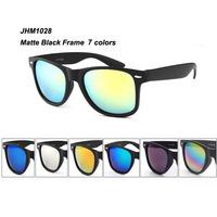 Matte black frame glasses women and men loved fashion sun glasses free shipping  JHM1028