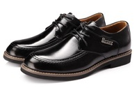 New 2014 men dress shoes high quality genuine leather fashion lacing oxford shoes for men wedding shoes
