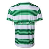 Top Thailand Quality 2013 14 Green White Scottish The Bhoys SAMARAS STOKES Home Soccer Jerseys Futbol Camiseta, Free Shipping