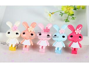 Send random Cute Rabbit Children clip hair band bobby pin headwear girl hairpin children hair accessory FD200(China (Mainland))
