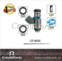 Universal Fuel Injector Repair KitS CF-6635 Basket Filter CF-107 O Ring O-203 Spacer CF-306 For Marelli Fuel injector IWP006