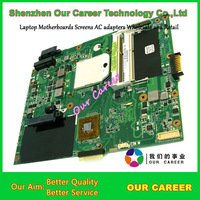 Sell laptop motherboard for Asus K52N motherboard 60-NZSMB 1000-D03 motherboard 100% tested working