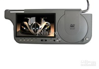 "7""Sunvisor car DVD player,car DVD player With Game+USB+SD+FM+TV"