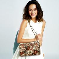 Danny Bear Printing Women Messener Bags Shoulder Bags Fashion Small Satchel Bag DB14552-42
