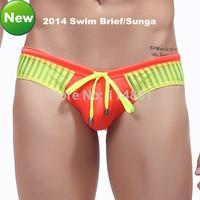 Free Shipping! 2014 New Men's Swimwear/Men's Swimming Briefs/Trunks/Men's BeachwearWholesale WJ  DK1014