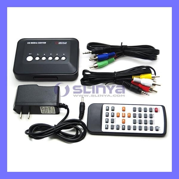 1080P Full HD Media Center RM/RMVB/AVI/MPEG HDD TV Player Media Player with USB and SD/MMC Port(China (Mainland))