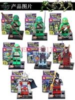 Teenage Mutant Ninja Turtles Minifigure 240pcs/lot Building Blocks Sets Figure DIY Bricks Toys For Children
