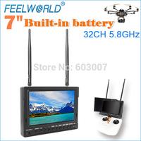 FEELWORLD 7 inch 5.8g fpv dvr monitor 2014