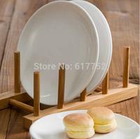 Original design creative handmake bamboo storage holder for dishes plate cup multifunctional kitchen supplies storage shelf