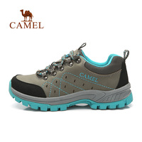 Camel for outdoor hiking shoes 2014 Women breathable shock absorption low-top a94303611 shoes walking shoes