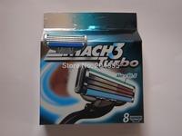 Free Shipping TURBO razor blade men shaving razors blades Retail packaging(8pcs blades 1 lot)