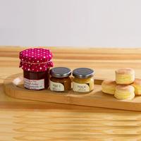 Original design creative handmade bamboo wood tray for glasses cake storage-box pallet fruit plate snack tray jar holder