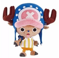 30cm kawaii japanese anime action figure stuffed animal soft plush doll toy one piece tony chopper gift for children baby girls