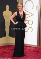 2014 New Arrival Julia Roberts Carpet Celebrity Dresses Mermaid Lace Prom Dress