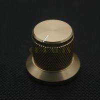 4PCS 30*25mm Generic Golden Anodized Higi Quality Solid Aluminum Knob Speaker Radio CD Player Amplifier Volume Control