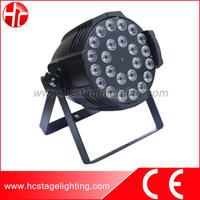 disco entertainment lighting 24pcs 4in1 par led rgbw 10w