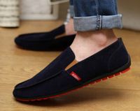 Free shipping 2014 New Fashion Men Casual Drivering Leather Peas Shoes Boys Flat Loafers Shoes Size 39-44