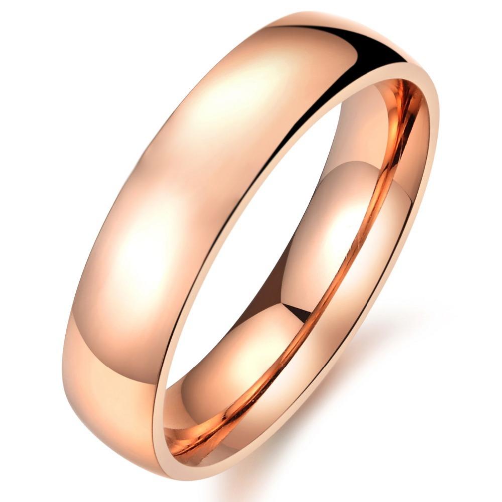 Baratos anillos de bodas del oro